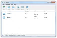 Скриншот 1 из 2 программы SyncBreeze