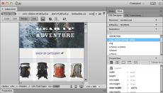 Скриншот 1 из 1 программы Adobe Dreamweaver CC