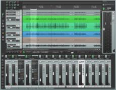 Скриншот 1 из 3 программы Reaper