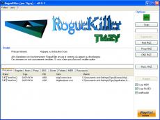 Скриншот 1 из 1 программы RogueKiller