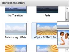 Скриншот 1 из 3 программы VideoPad Video Editor