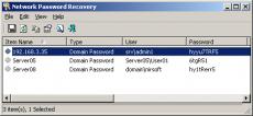 Скриншот 1 из 1 программы Network Password Recovery