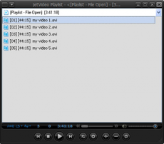 Скриншот 2 из 3 программы JetVideo