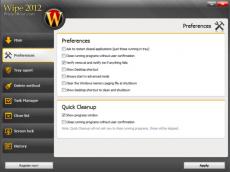 Скриншот 3 из 4 программы Wipe