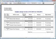 Скриншот 5 из 5 программы WinHotel