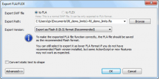 Скриншот 4 из 6 программы Sothink SWF Decompiler