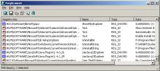 Скриншот 1 из 1 программы RegScanner