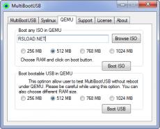 Скриншот 2 из 3 программы MultiBootUSB