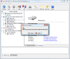 Скриншот 3 из 10 программы Active@ KillDisk