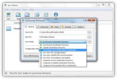 Скриншот 2 из 2 программы SyncBreeze