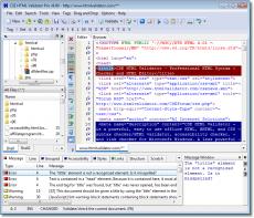 Скриншот 1 из 1 программы CSE HTML Validator