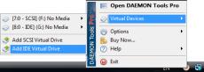 Скриншот 1 из 8 программы DAEMON Tools
