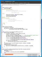Скриншот 1 из 1 программы SciTE
