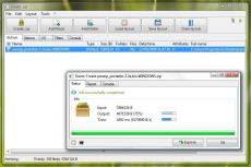 Скриншот 1 из 2 программы PeaZip