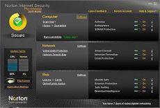 Скриншот 1 из 1 программы Norton Internet Security