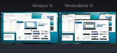 Скриншот 2 из 4 программы WindowBlinds