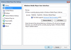 Скриншот 3 из 11 программы Windows Media Player Plus!