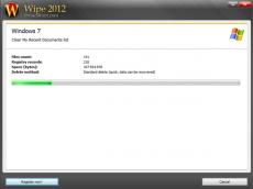 Скриншот 4 из 4 программы Wipe