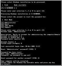 Скриншот 1 из 1 программы Windows XP/2000/NT Key