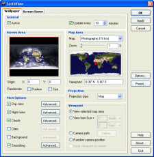Скриншот 5 из 5 программы EarthView