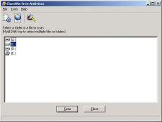 Скриншот 1 из 6 программы ClamWin Free Antivirus
