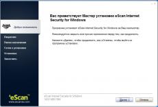Скриншот 2 из 5 программы eScan Antivirus / Internet Security
