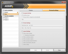 Скриншот 7 из 8 программы AIMP