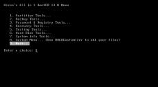 Скриншот 9 из 10 программы Hiren`s BootCD