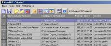 Скриншот 1 из 1 программы ReadAVI