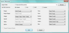 Скриншот 5 из 6 программы Sothink SWF Decompiler