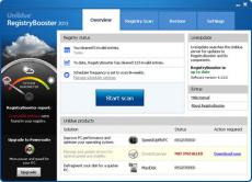 Скриншот 1 из 4 программы Registry Booster
